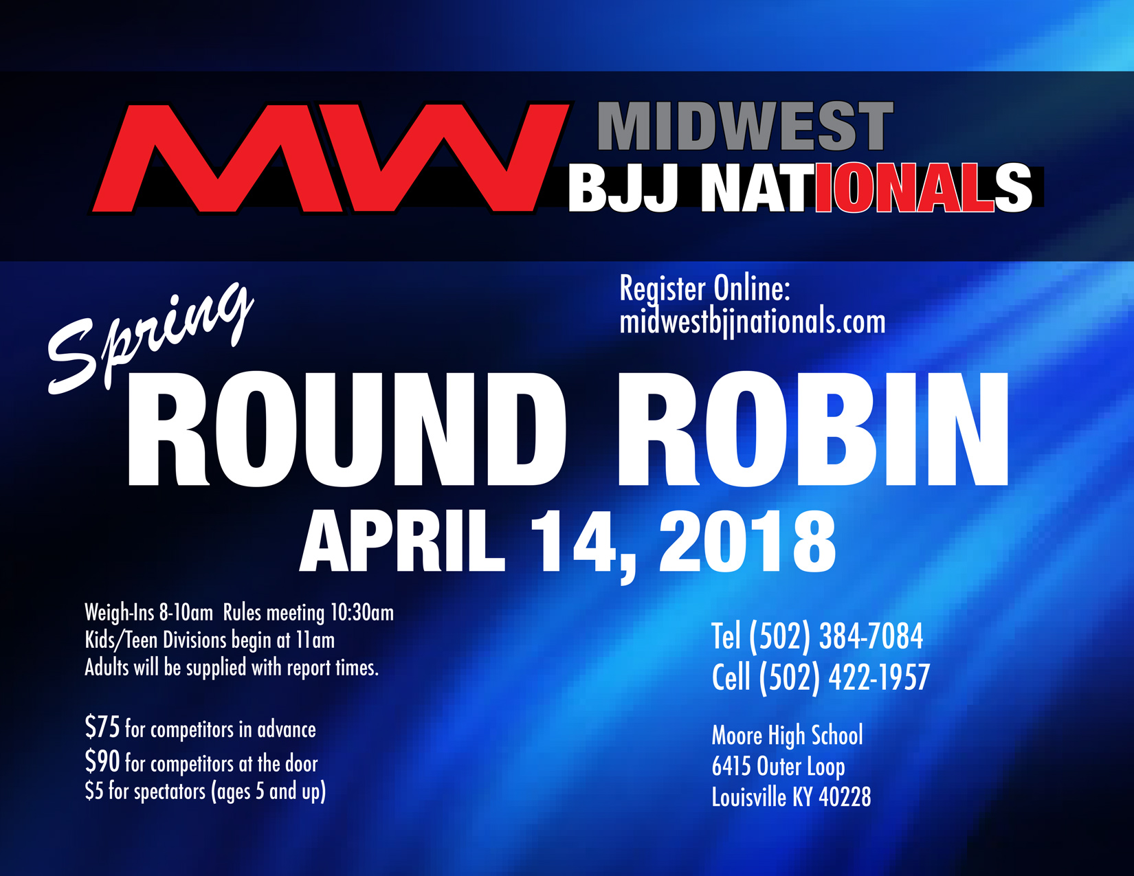 Home of Midwest BJJ Nationals